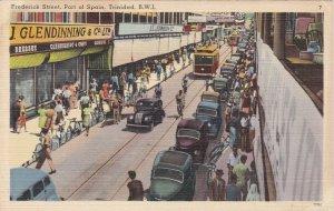 Trinidad Port Of Spain Trolley On Frederick Street sk4653