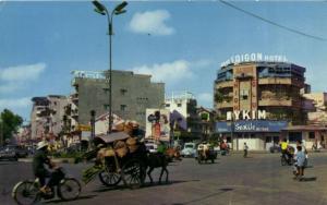 INDOCHINA CPA Saigon Hotel and typical Vietnamese transportation (119187)