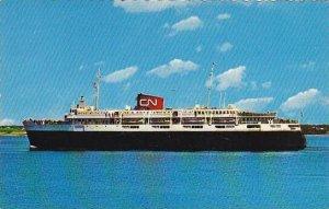 Car Ferry Bluenose Between Yarmouth Nova Scotia & Bar Harbor Maine