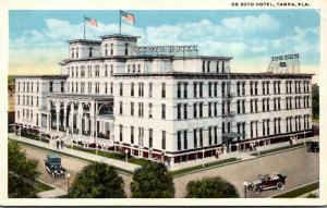 Florida Tampa The De Soto Hotel 1919 Curteich