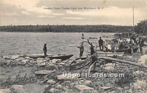 Hunter's Camp Yankee Lake NY 1910