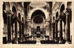CPA  Tours - Intérieur de la Basilique Saint-Martin - Lieu de pélerinage(589802)
