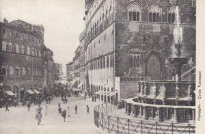 PERUGIA, Umbria, Italy, 1900-1910s; Corso Vannucci