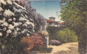 Pinehurst North Carolina~Carolina Hotel~Guest Note~1948 Handcolored Albertype Pc