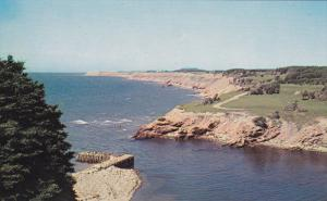 NEWFOUNDLAND, Canada, 1940-1960's; Mouth of Highland River, Salmon Fishing River