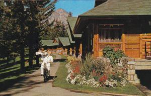 JASPER, Alberta, Canada, 1940-1960's; Room Service At Jasper Park Lodge