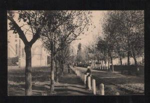 060087 UKRAINE Znamenka road to railway school Old