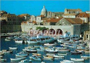 Postcard Modern Dubrovnik Yacht