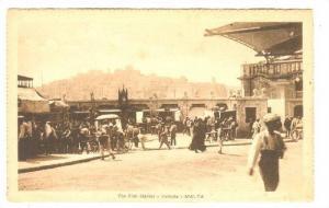 Malta, 1910s; The Fish Market - Valietta