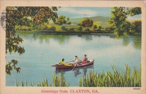 Georgia Greetings From Claxton 1943