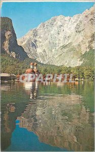 Modern Postcard St. Bartholoma Watzmann Berchtesgaden