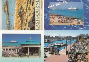 Eastbourne Sunshine Advertising Poster 4x Postcard s