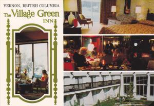 4-Views, Dining Room, The Village Green Inn, Vernon, British Columbia, Canada...