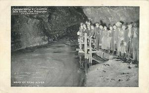 Head of Echo River in a Cave - Mammoth Cave KY Kentucky  PC