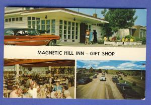 N.B. Canada Postcard, Magnetic Hill Inn & Gift Shop, 1960's?