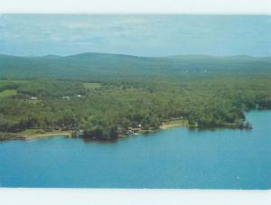 Unused Pre-1980 LAKE SCENE Wolfeboro - Near Laconia New Hampshire NH F3049