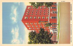Greenville Mississippi Hotel Street View Antique Postcard K87894