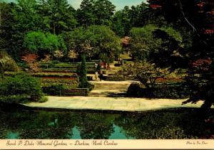 North Carolina Durham Sarah J Duke Memorial Garden