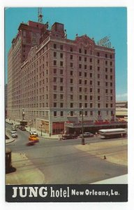 New Orleans, Louisiana, Vintage Postcard View of Jung Hotel
