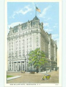 Unused W-Border NEW WILLARD HOTEL Washington DC hr9146