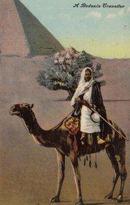 Desert of Arabia , A Bedouin Traveller on a camel , 00-10s
