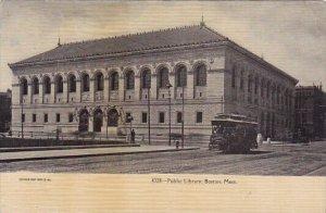 Public Library Boston Massachusetts 1910