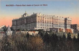 Spain Madrid - Palacio Real desde el Campo del Moro