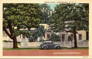 New York Elizabethtown Social Center Curteich