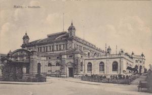 Stadthalle, Mainz, Rhineland-Palatinate, Germany,  00-10s