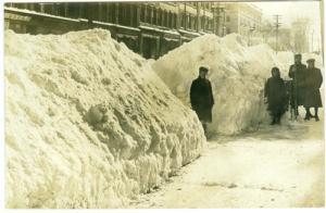 RPPC - 1912 Oswego Snow