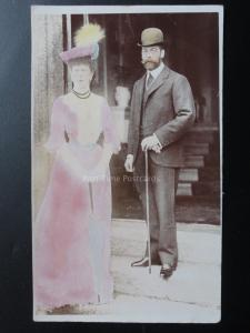 H.M. King George V & H.M. Queen Mary c1912