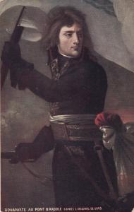 Bonaparte au Point D'Arcole , 00-10s ; TUCK