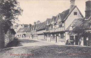 Partial View Of Mill Street, Warwick, England, UK, 1900-1910s
