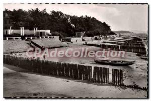 Old Postcard Arcachon The Moulleau Beach