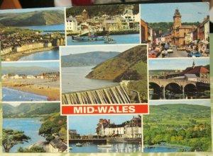 Wales Mid-Wales Barmouth Borth Tal-y-Llyn etc - posted 1986