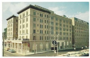 Hotel Marion Little Rock AR Arkansas Postcard Standard View Card Old Cars