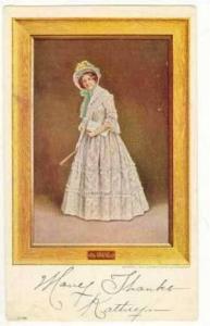 Framed portrait of The 1847 Girl, PU-1913