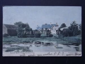 Hertfordshire NORTON BURY FARM Nortonbury Letchworth Garden City c1904 Postcard