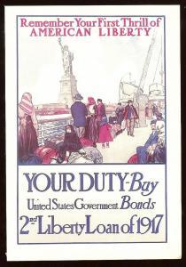 WWI poster unused