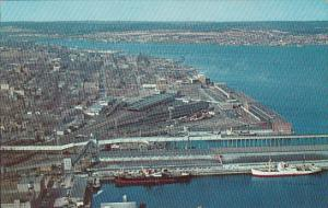 Canada Nova Scotia Halifax Looking North Over Halifax 1962
