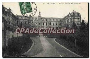Old Postcard Beauvais The Normal School Of Teachers