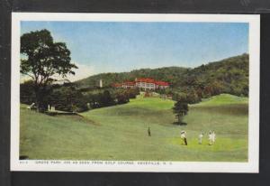 Golf Course,Grove Park Inn,Ashville,NC Postcard
