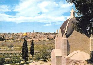 Israel Jerusalem The Sanctuary of the Dominus Flevit General view