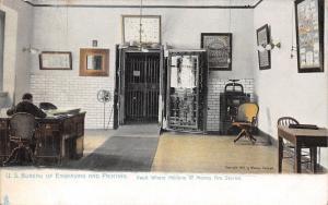Washington DC Little Man Sits in Office~Engraving & Printing Bur~TUCK ©1904 UDB