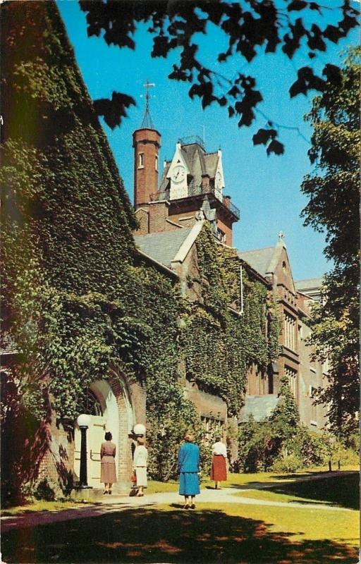 Wheeling West Virginia~Bethany College~Commencement Hall~Ladies~Old Main~1950s