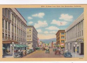 California San Bernardino E Street From Third Curteich
