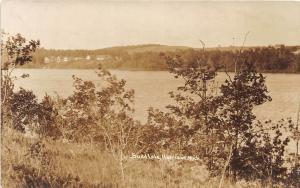 D15/ Harrison Michigan Mi Real Photo RPPC Postcard c1920s Budd Lake Cottages