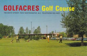 GOLFACRES Golf Course , NEW WESTMINSTER , B.C. , Canada , 50-60s