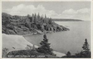 Beach , Lake Superior , Ontario , Canada , 1910-30s