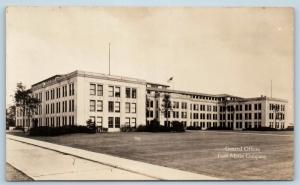 Postcard MI Detroit Ford Motor Company General Offices RPPC Real Photo L19